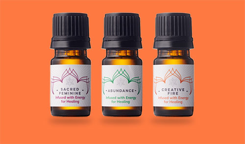 Hand Crafted Energy Infused Temple Essential Oil Blends and Sprays